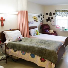 Hospitable beds for nursing home residents